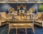 Dining Room designed by Polo M.A. Inc/The Urban Dweller for the 2017 Designer Show House of New Jersey